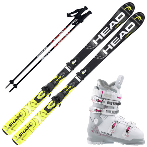 [16/17] SHAPE PX + [17/18] ADVANT EDGE 65W + [17/18] NORDICA POLE