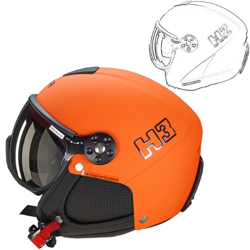 [18/19] HMR HELMET COLOR H2-015 ORANGE