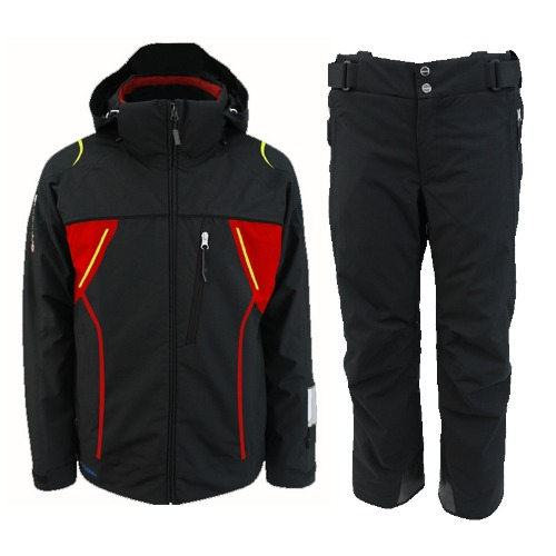 [18/19] MEN'S TEAM JACKET BLACK ONJ 91550 + PANTS BLACK ONP91551