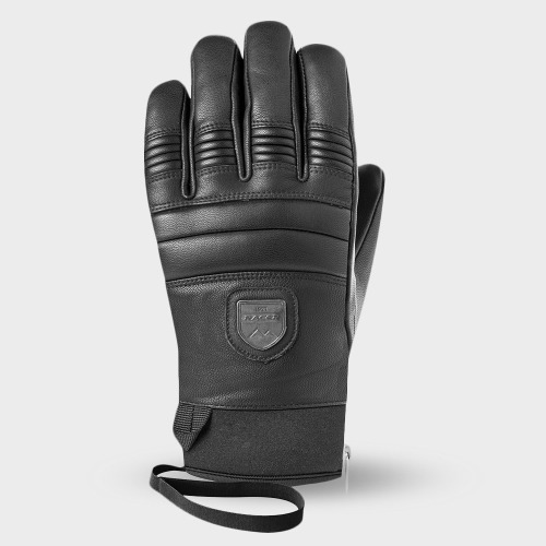 [18/19] 90 LEATHER GLOVES BLACK/BLACK